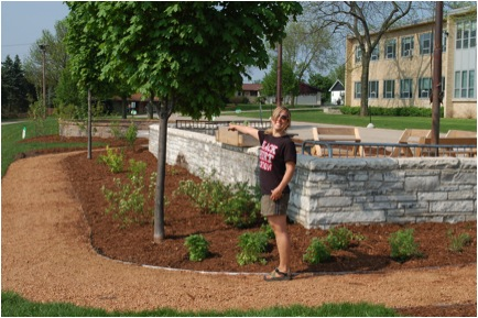 Picture 9: The Native Wisconsin Plants section is complete!